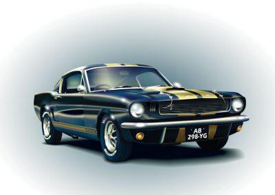 Vectorisation - Mustang