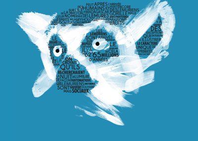 Visuel Lemur Grafik - Brush